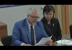 Один аз авторов законопроекта - ведущий юрисконсульт ИЭГ Дмитрий Гордеев